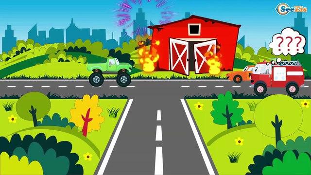 Мультфильмы ПРО МАШИНКИ Пожарная машина Мультики для детей Все серии подряд сборник 60 минут