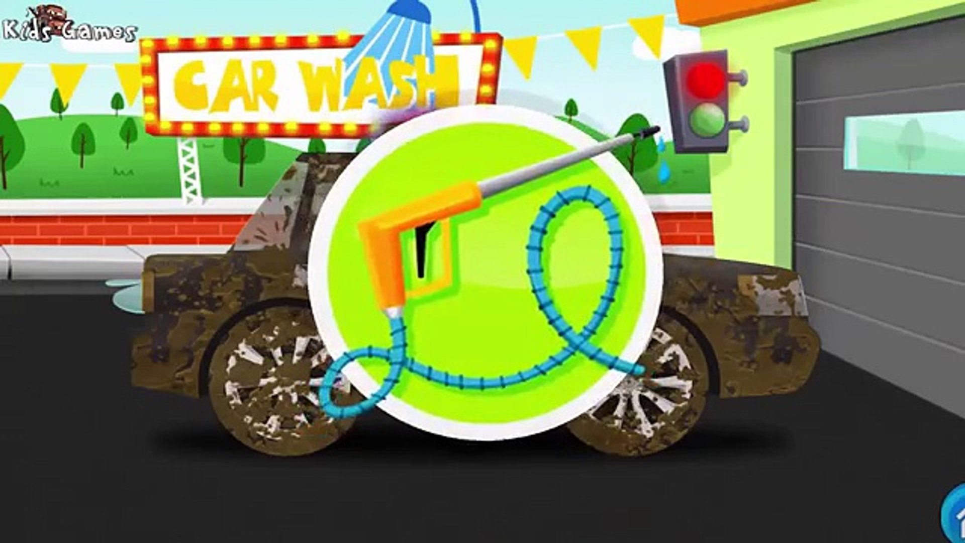 Car, Police Car for Children : Car Fory, Car Wash | Learn Vehicles for Kids Preschooler