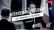 Interview d'Emmanuel Macron : les moments à retenir