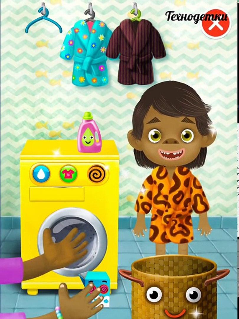 Pepi Bath 2 (Пепи ванная 2) - развивающий мультик игра о для детей о гигиене