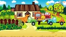 Le Camion Curieux Pomme de Reinette et Pomme d'API - Dessin Animé Pour Bébés