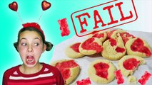How To Make Melted Gummy Bear Heart Shaped Valentine Treat Cookies Princess Ava Kids Cooking Crafts