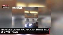 Terreur en plein vol après un gros problème technique sur un avion Air Asia (Vidéo)