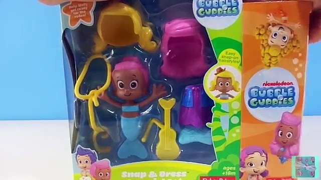Bubble Guppies Molly Snap & Dress Cowgirl Fisher-Price Set