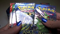 Opening 3 Pokemon EX Promo Tins! Hoopa, Latios and Rayquaza