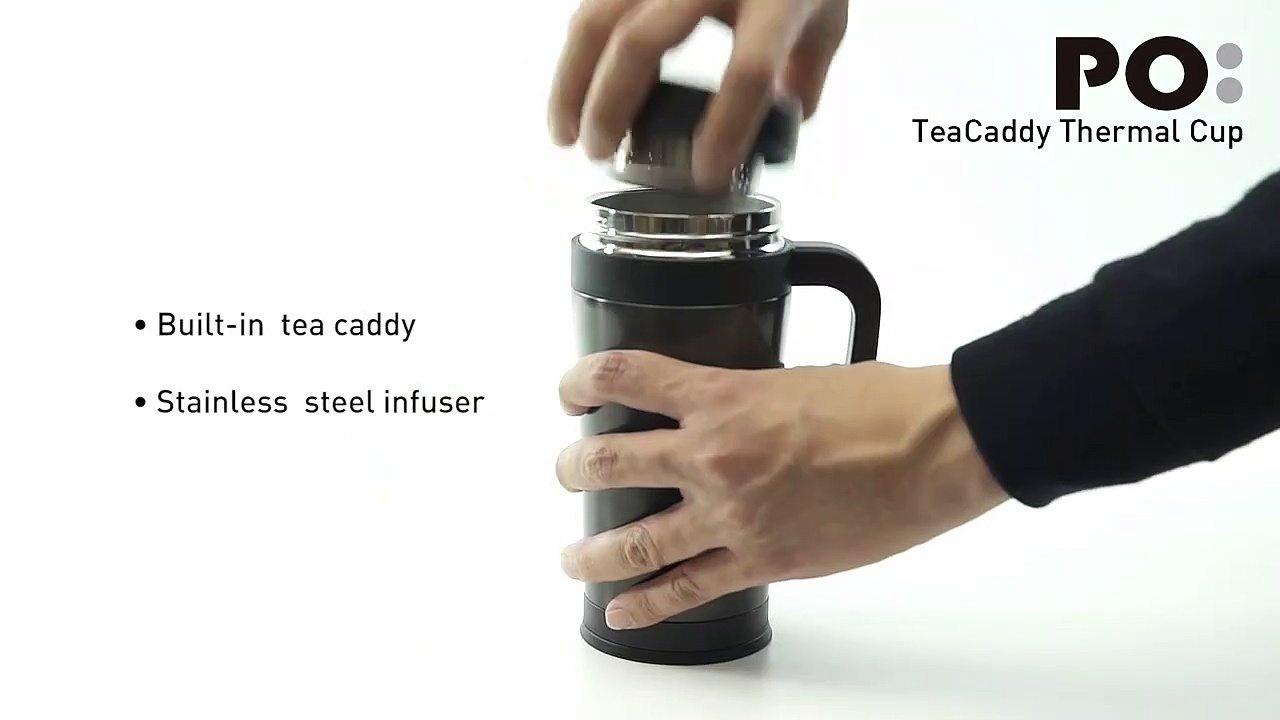 TeaCaddy Thermal Cup
