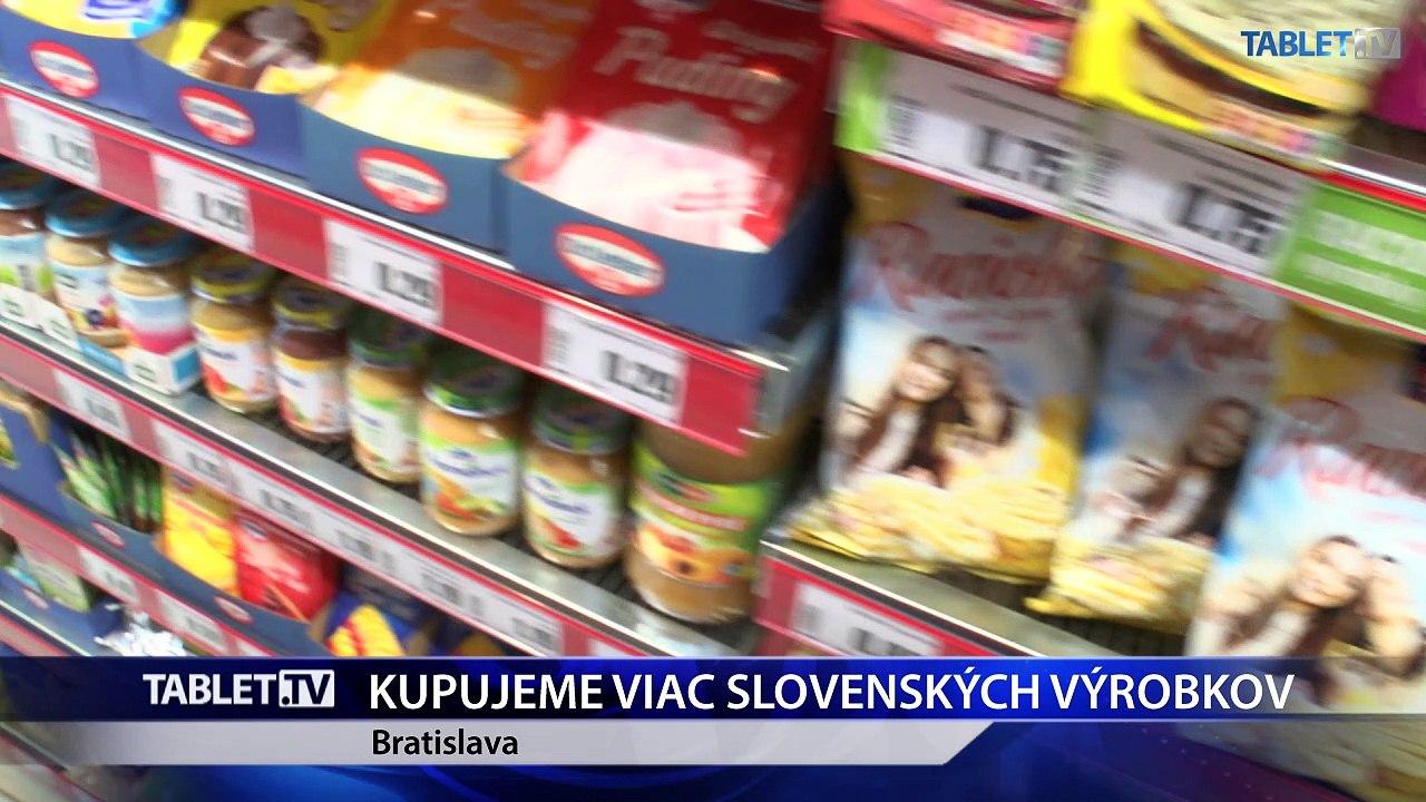 Nákupný patriotizmus má na Slovensku stúpajúci trend