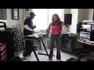 Hip Hop violinist Miri Ben-Ari & DJ Total Eclipse