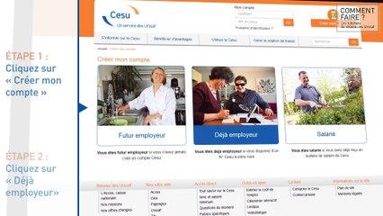 Comment Contacter Le CESU Par Telephone Un Conseiller