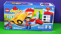 SUPERMAN Lego Duplo Superman to the Rescue Lego Superman Video Toy Review