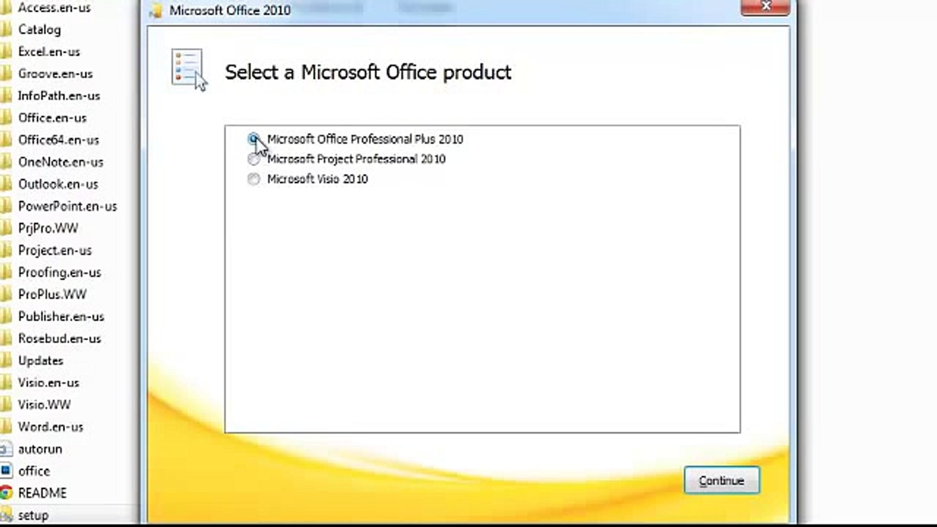 Activation Ms Office Professional Plus 2010, Ms Project 2010 and Ms Visio 2010