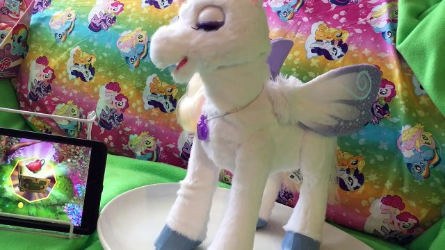 *NEW* StarLily My Magical Unicorn Pet App FurReal Friends Interive Toy Game Playing QuakeToys
