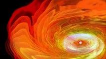 Deux étoiles à neutrons fusionnent en un trou noir