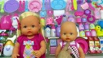 Nenucos en Mundo Juguetes Nenuco Pepa y la bebé Nenuco abren un set gigante de accesorios para bebés