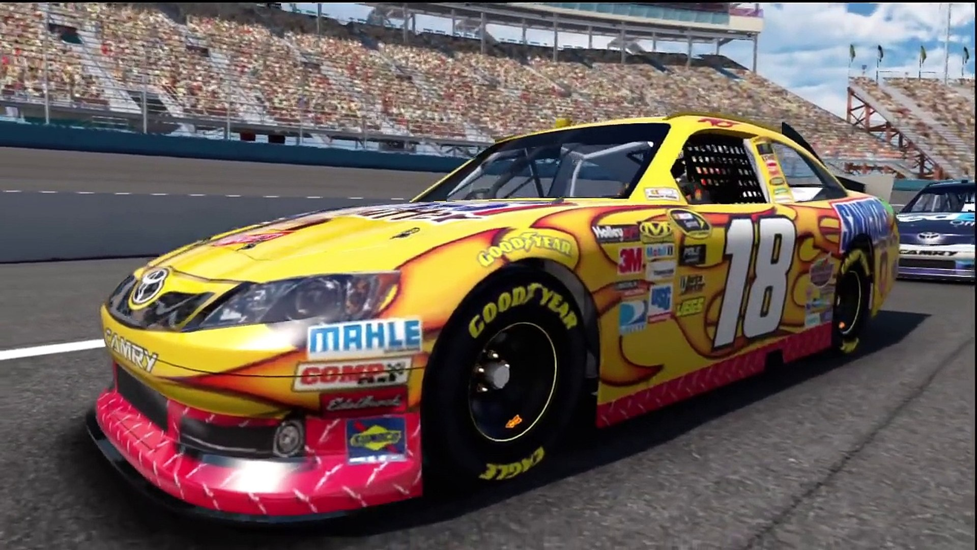 Phoenix Chase Race 9 Gameplay Career Mode Nascar The Game Inside Line Race 35 Video Dailymotion