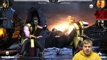 MKX Mobile: Slasher Jason and Ravenous Mileena combo. One of the best teams!