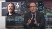 John Oliver Slams Academy for Expelling Harvey Weinstein While Keeping Bill Cosby, Roman Polanski | THR News