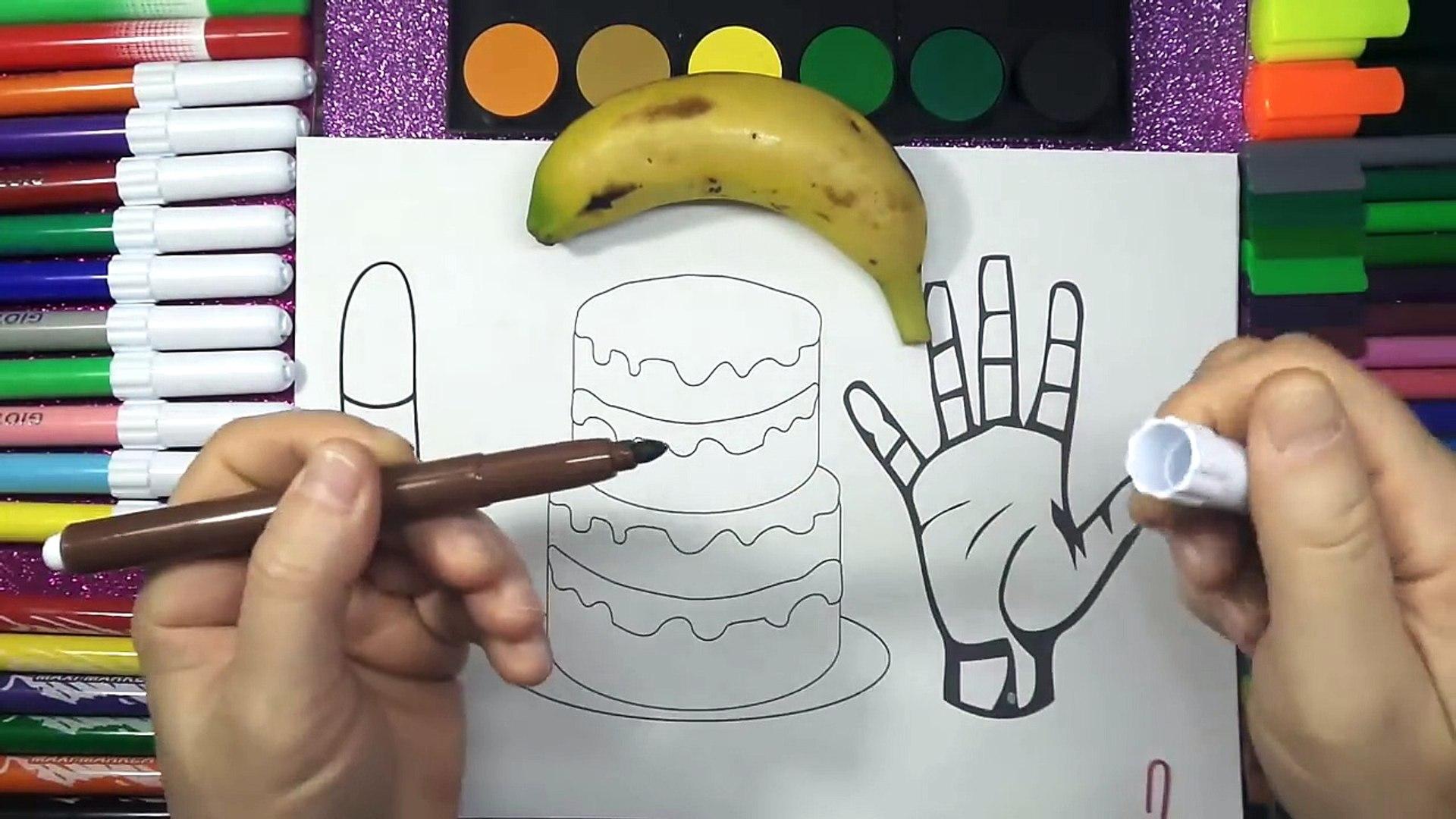 Renkleri Ogreniyorum Dondurma El Ve Pasta Boyama Oyun Hamuru
