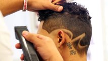 How to do Faded Design Haircut | Barber Tutorial