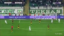 3-1 Aziz Behich Goal Turkey  Süper Lig - 16.10.2017 Bursaspor 3-1 Osmanlispor FK