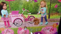 BABY ALIVE Sophie gets Ice Cream Bike & Kara eats all her treats! My Life As Treat Cycle Unboxing!