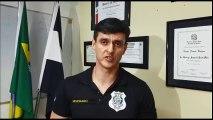 Trabalho da polícia na Serra