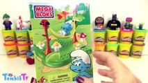 Şirinler Şirin Baba Sürpriz Yumurta Oyun Hamuru - Tsum Tsum Cicibiciler
