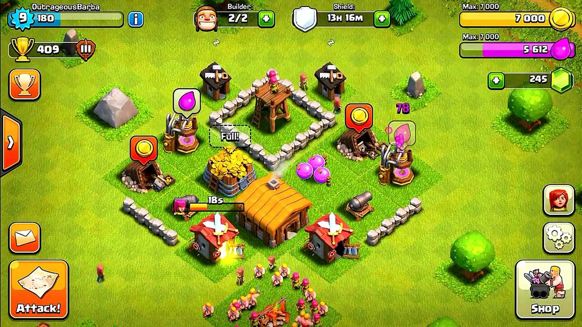 Best Th 2 Base Coc 8