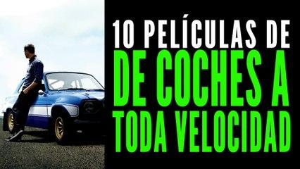 Las 10 mejores películas de coches ¡A toda velocidad!