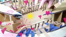 DIY CRAFTS FOR ROOM DECOR! CARDBOARD FURNITURE DIY Room Decorating Ideas for Teenagers