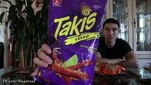 Takis Fuego & Hot Cheetos Challenge