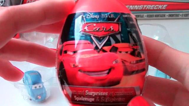 Unwrapping Disney Pixar Cars 2 Surprise eggs Planes Surprise eggs Kinder Surprise eggs