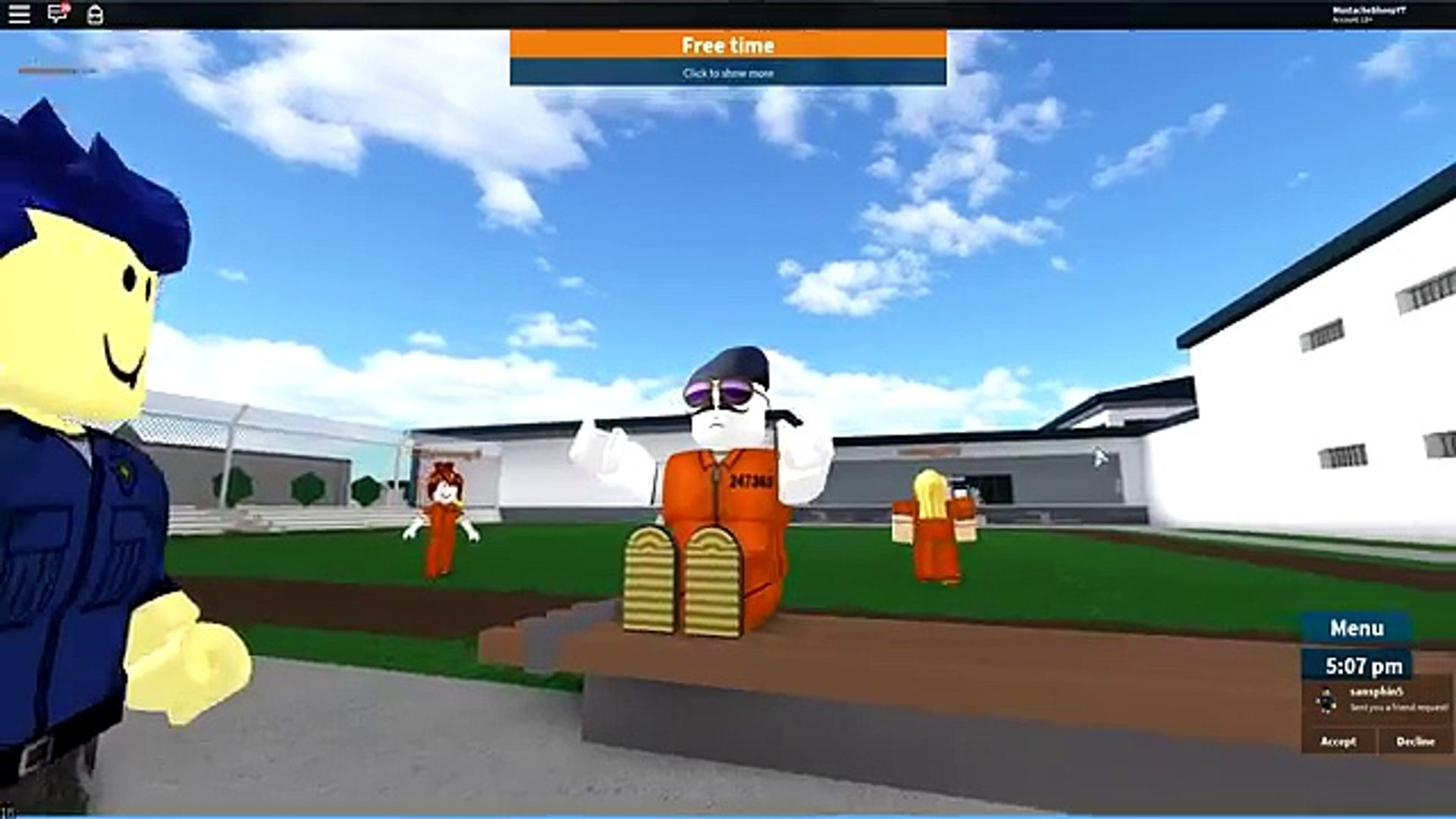 Teaching My Son How To Glitch In Roblox Prison Life 影片