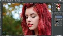 Warm Autumn Effect Photoshop CC Tutorial Ver.2