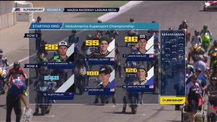 2017 MotoAmerica Honda Championship Of The Monterey Peninsula Supersport Race