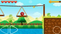 Red Ball Roll - Android Game Walkthrough (All Levels)