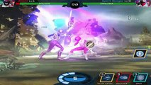 Power Rangers Legacy Wars - Pink Ranger Gameplay Battles | Power Rangers Zeo