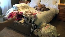Declutter With Me   Master Bedroom   Cleaning Motivation