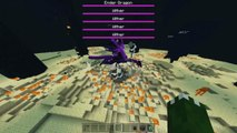 10 Wither Storms Vs Ultimate Ender Dragon in the End Minecraft PE 1.1!! (Pocket Edition)