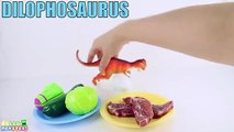 Dinosaur Eating - Learn Dinosaurs Name Sounds Dinosaurs - Learn Names Of Dinosaurs