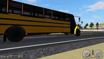 Rigs of Rods School Buses in Verniocity No.2 Feat. Thomas Saf-T-Liner C2 By Thatguy
