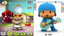 Talking Tom Vs Talking Pocoyo Reion Compilation Funny Moments Video 2016