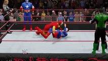 WWE 2K15 Marvel Avengers vs DC Comics Justice League