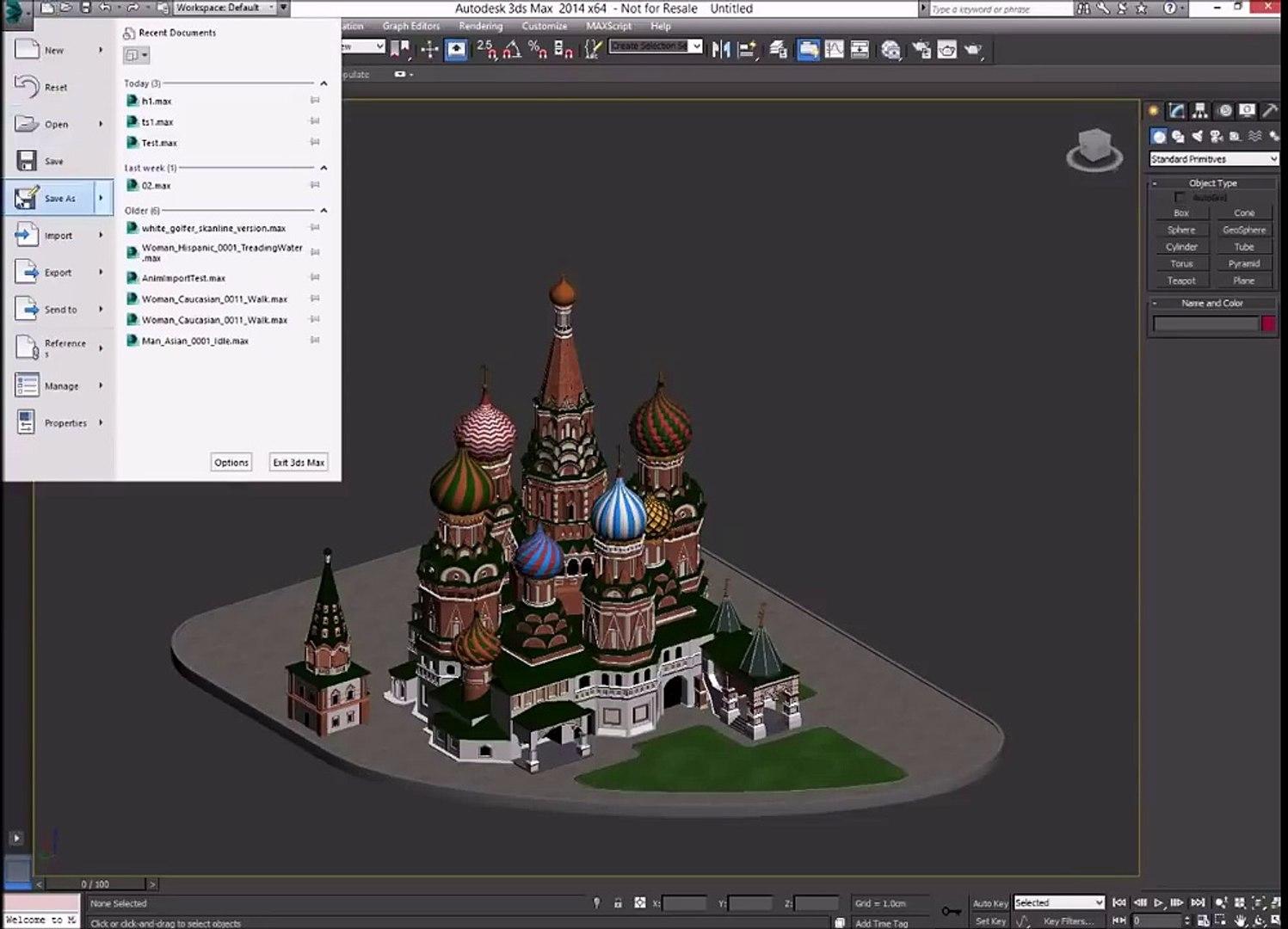 Lumion - Export 3D Studio Max models to Lumion