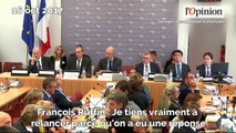 François Ruffin et le PDG d'Alstom s'embrouillent jusque dans la rue après une audition à l'Assemblée