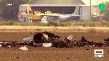 Un jeune pilote meurt dans le crash de son avion de combat en Espagne