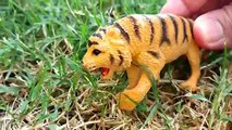 Safari Jungle ZOO Animals Toys-Learn Names and Sounds of Wild Animals-Kids Z fun