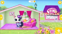 Fun Animals Kitty Care - Kids Pet Smelly Potty Fun Toilet Bath CleanUp - Fun Animated Kid Game Video