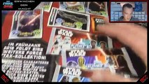Star Wars FORCE ATTAX Erwachen der Macht Display Booster Unboxing Opening