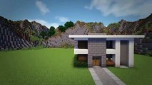 Minecraft: How To Build A Small Modern House Tutorial (#6